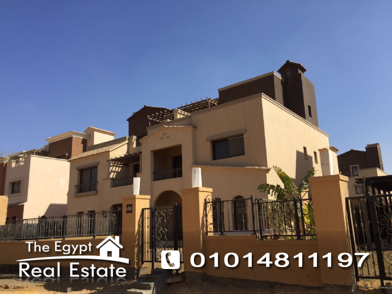 The Egypt Real Estate :Residential Twin House For Sale in Mivida Compound - Cairo - Egypt
