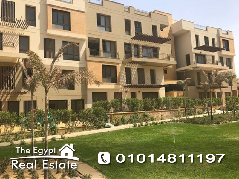 The Egypt Real Estate :Residential Duplex For Sale in Eastown Compound - Cairo - Egypt
