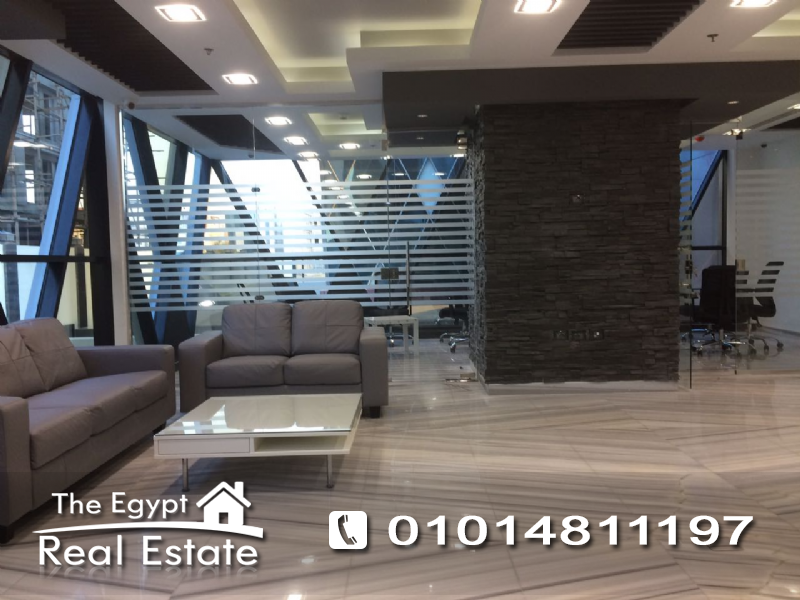 The Egypt Real Estate :1594 :Commercial Office For Rent in  5th - Fifth Settlement - Cairo - Egypt