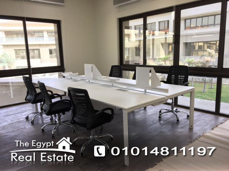The Egypt Real Estate :1985 :Commercial Office For Rent in  Katameya Heights - Cairo - Egypt