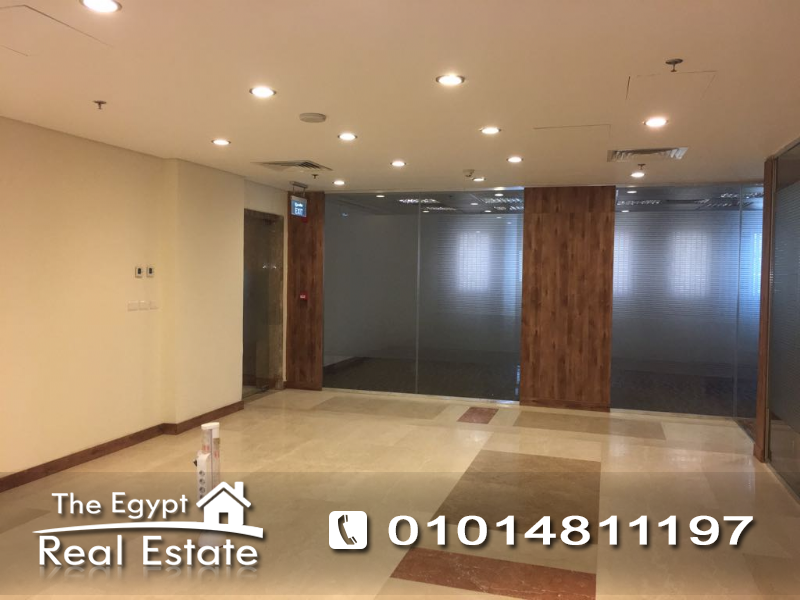 The Egypt Real Estate :2111 :Commercial Office For Rent in  5th - Fifth Settlement - Cairo - Egypt