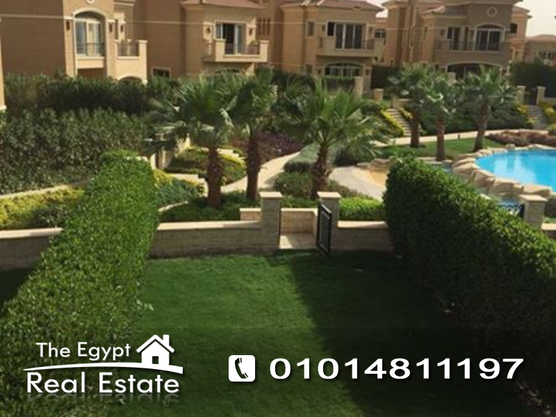 The Egypt Real Estate :Residential Townhouse For Sale in Stone Park Compound - Cairo - Egypt