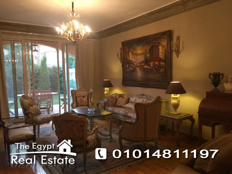 The Egypt Real Estate :Residential Twin House For Rent in Les Rois Compound - Cairo - Egypt