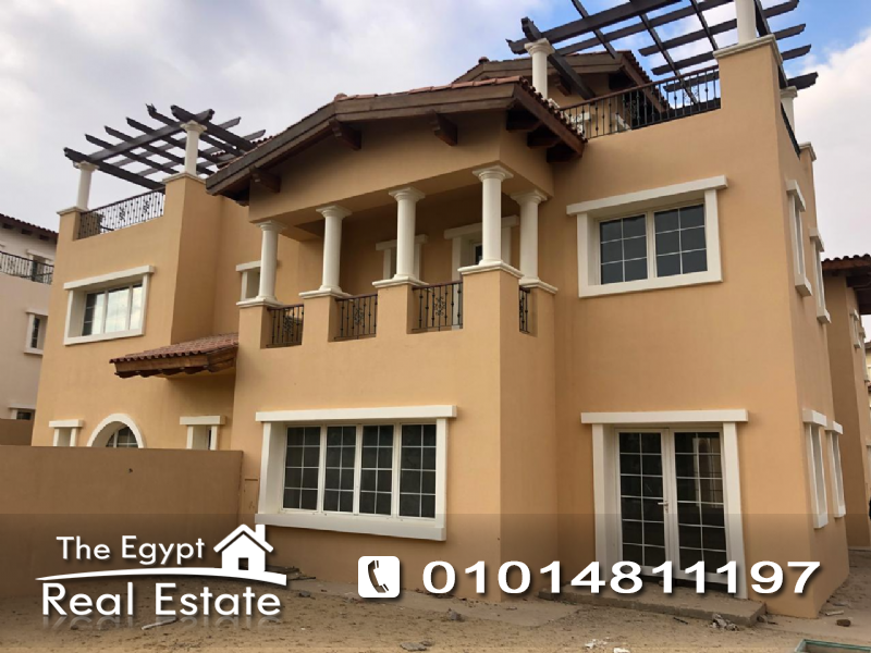 The Egypt Real Estate :2523 :Residential Twin House For Sale in  Hyde Park Compound - Cairo - Egypt