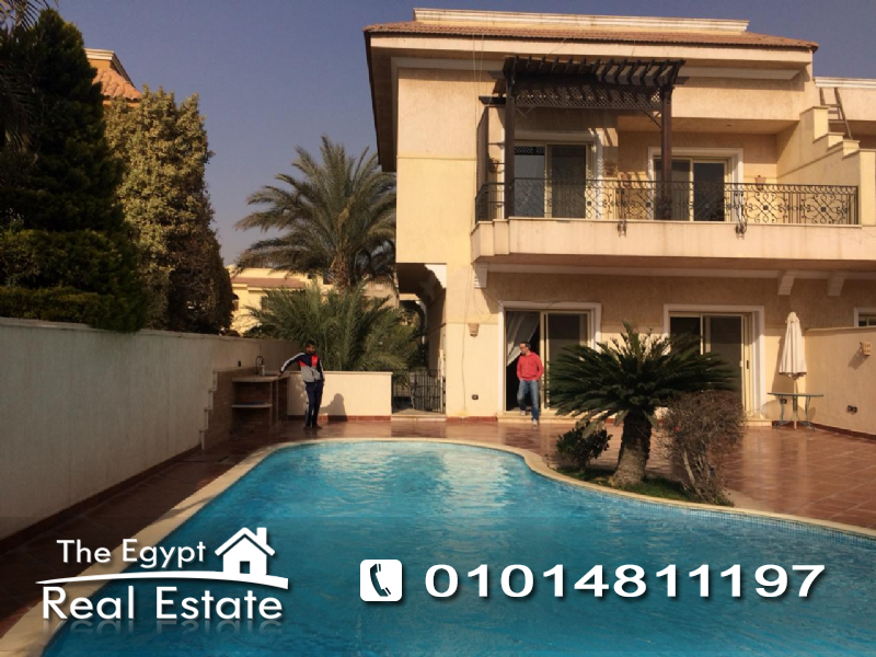 The Egypt Real Estate :2525 :Residential Twin House For Rent in  Arabella Park - Cairo - Egypt