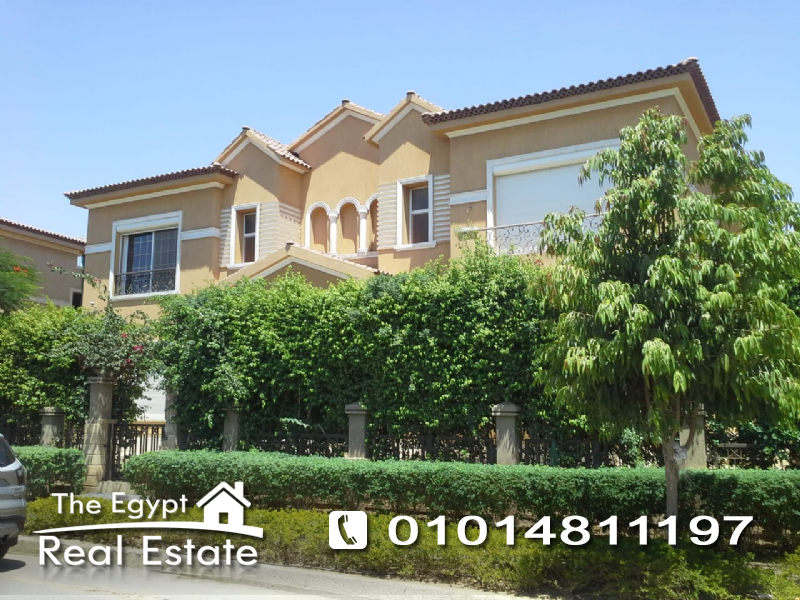 The Egypt Real Estate :Residential Stand Alone Villa For Sale in Lake View - Cairo - Egypt