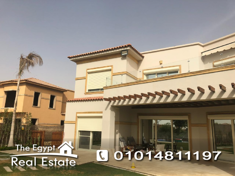 The Egypt Real Estate :2589 :Residential Villas For Rent in  Hayati Residence Compound - Cairo - Egypt