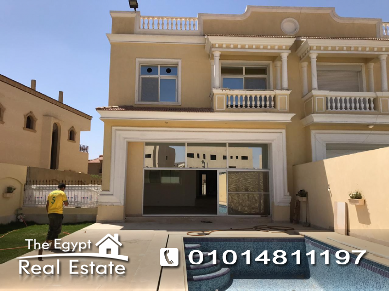 The Egypt Real Estate :2590 :Residential Twin House For Rent in  5th - Fifth Settlement - Cairo - Egypt