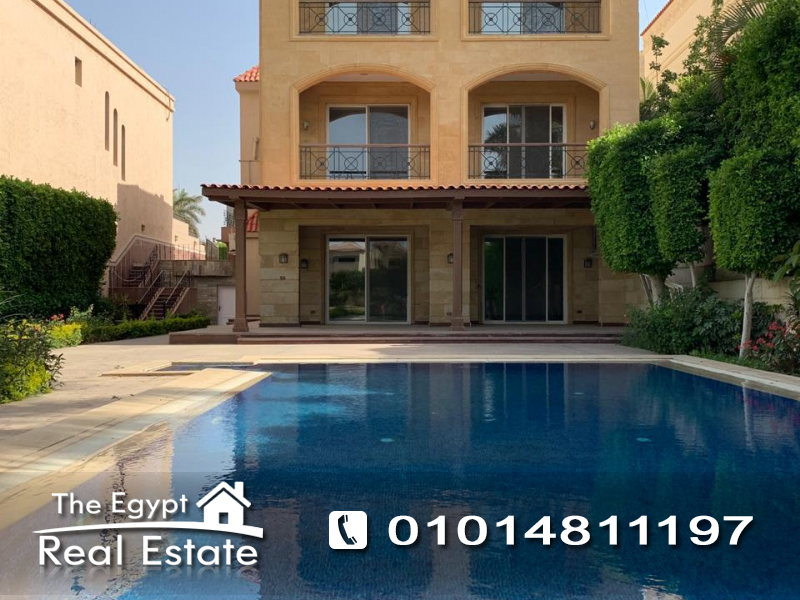 The Egypt Real Estate :2599 :Residential Stand Alone Villa For Rent in  Mirage City - Cairo - Egypt
