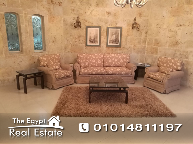 The Egypt Real Estate :Residential Ground Floor For Rent in  Katameya Heights - Cairo - Egypt
