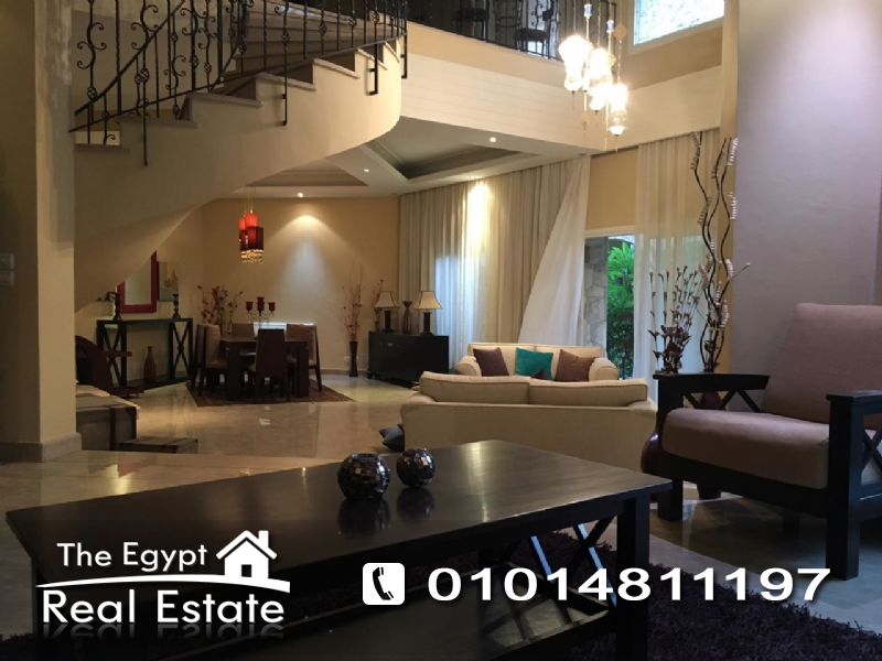 The Egypt Real Estate :Residential Duplex & Garden For Rent in  2nd - Second Avenue - Cairo - Egypt