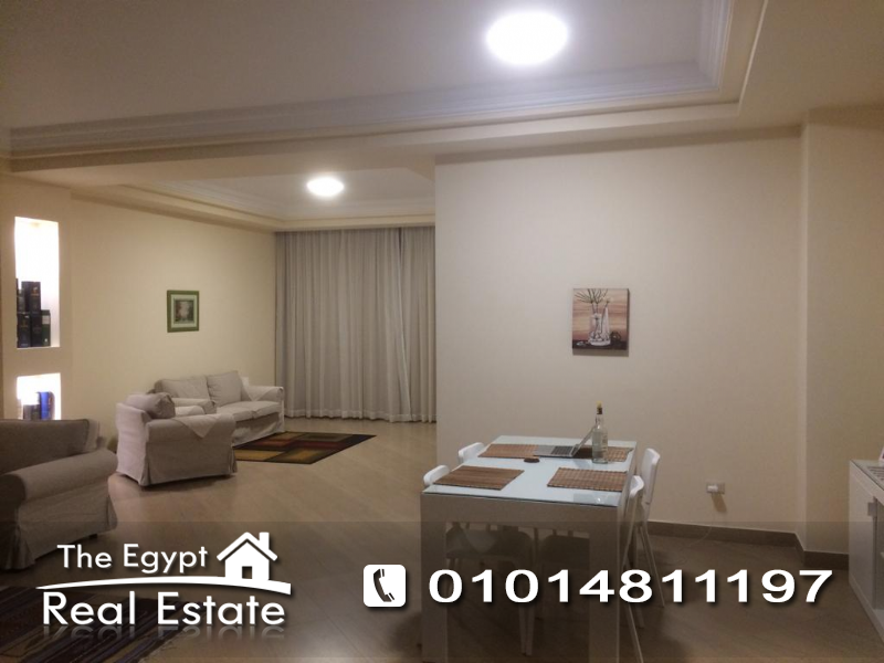 The Egypt Real Estate :Residential Ground Floor For Rent in  Lake View - Cairo - Egypt