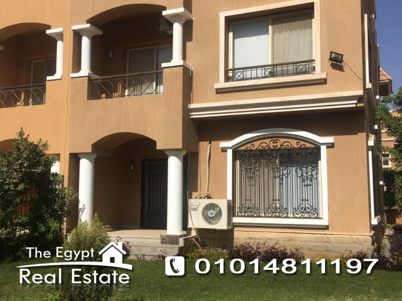 The Egypt Real Estate :Residential Twin House For Rent in  Mena Residence Compound - Cairo - Egypt