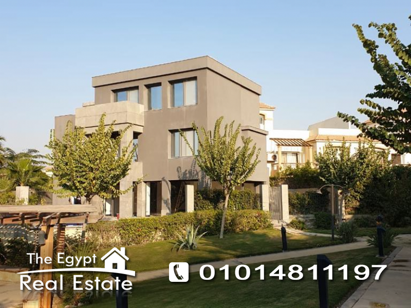 The Egypt Real Estate :Residential Twin House For Rent in  Katameya Residence - Cairo - Egypt