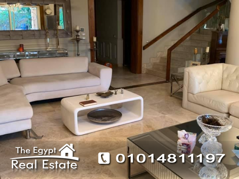 The Egypt Real Estate :Residential Townhouse For Rent in  Bellagio Compound - Cairo - Egypt