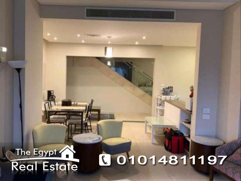 The Egypt Real Estate :Residential Penthouse For Rent in  Katameya Plaza - Cairo - Egypt