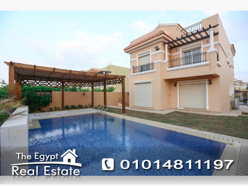 The Egypt Real Estate :Residential Stand Alone Villa For Rent in  Hyde Park Compound - Cairo - Egypt