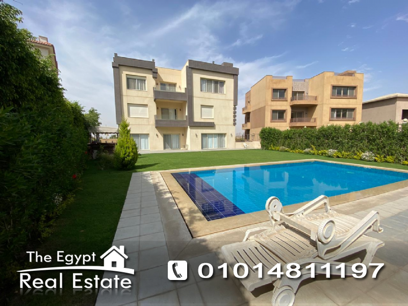The Egypt Real Estate :Residential Stand Alone Villa For Rent in  Katameya Dunes - Cairo - Egypt