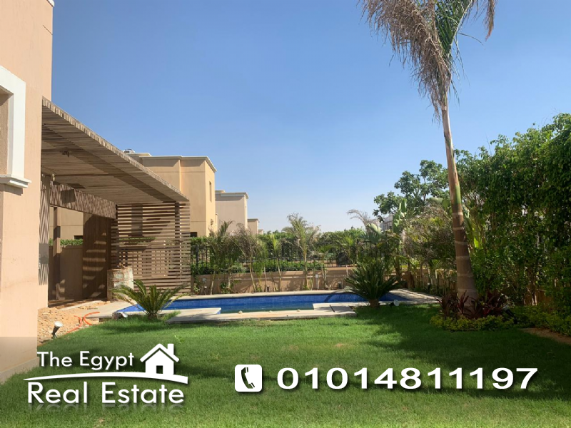The Egypt Real Estate :Residential Stand Alone Villa For Rent in  Mivida Compound - Cairo - Egypt