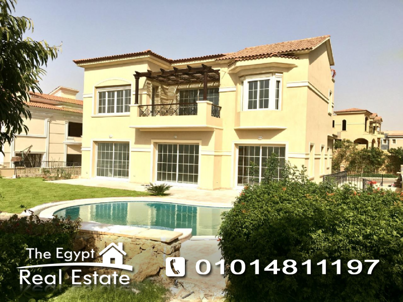 The Egypt Real Estate :Residential Stand Alone Villa For Rent in  Lake View - Cairo - Egypt