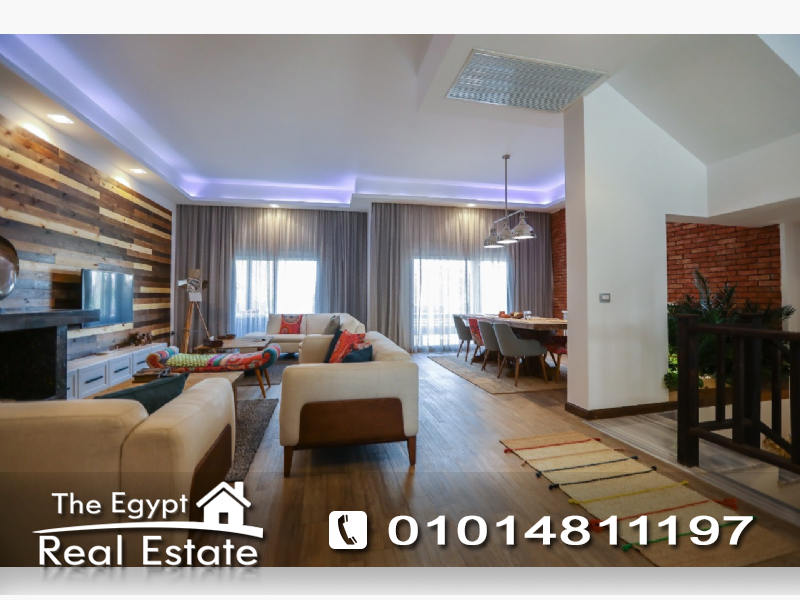 The Egypt Real Estate :Residential Townhouse For Sale & Rent in Katameya Dunes - Cairo - Egypt