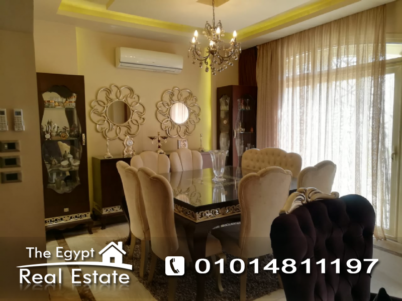 The Egypt Real Estate :Residential Townhouse For Rent in  Villino Compound - Cairo - Egypt
